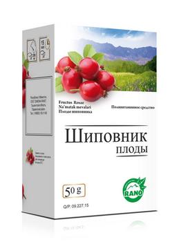 Шиповник плоды 50г (Замона Рано)