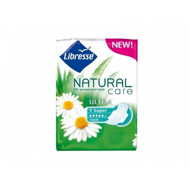 LIBRESS  NATURAL CARE ULTRA  СУПЕР №9