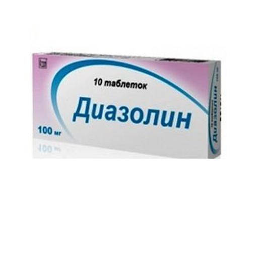 ДИАЗОЛИН 0,1 Г ТАБ