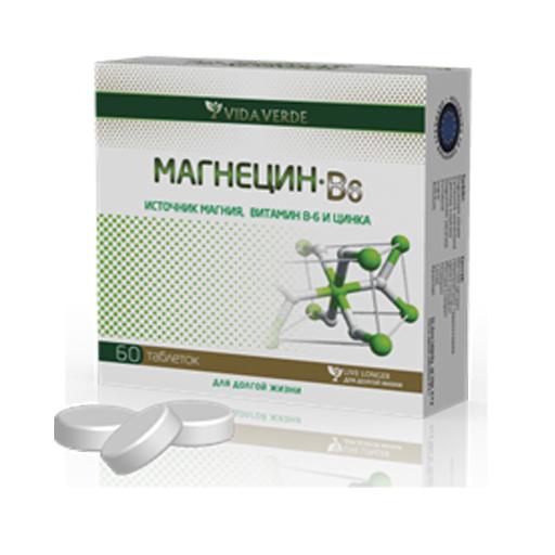 МАГНЕЦИН B6 ТАБ №60