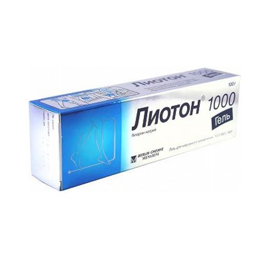ЛИОТОН 100 Гель 30Г
