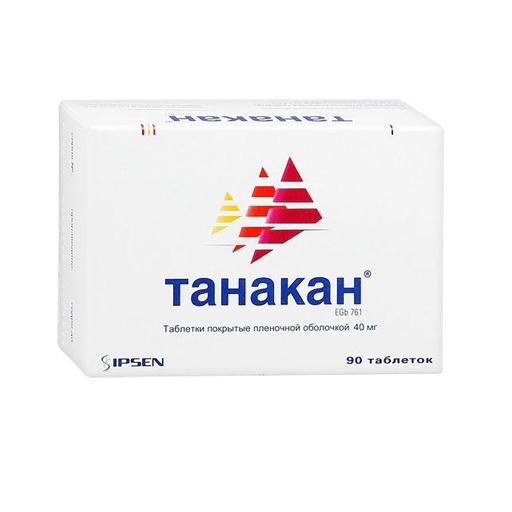 ТАНАКАН ТАБЛ П/О 40МГ №90