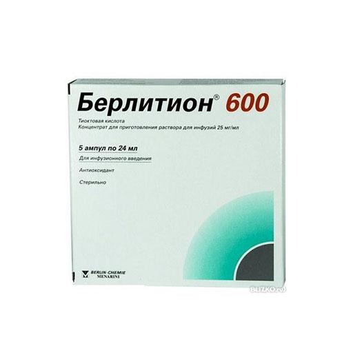 БЕРЛИТИОН 600ЕД 24 МЛ №5