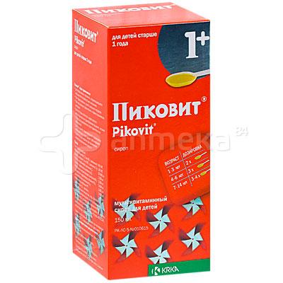 Пиковит сироп 1 +