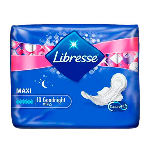 LIBRESSE GOOD NIGHT CLASSIC 10ШТ
