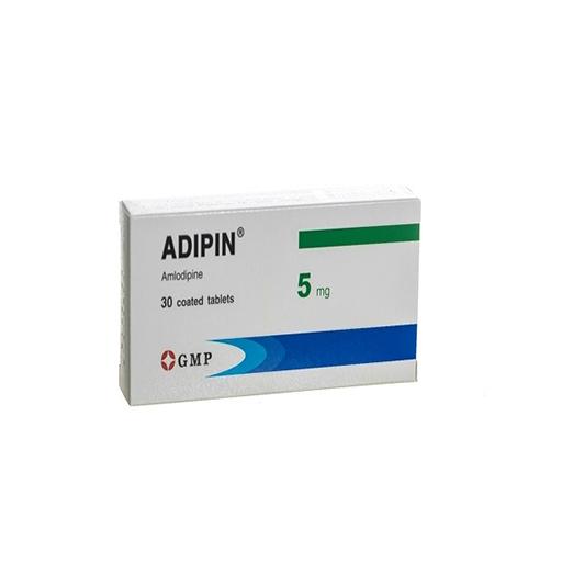 АДИПИН 5 мг №30 (АТМ)