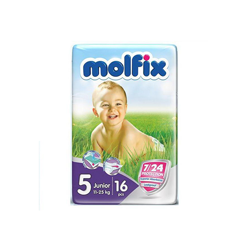 ПОДГУЗНИКИ MOLFIX JUNIOR РАЗ 2 3-6 КГ №40