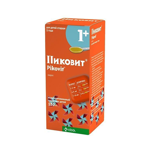 ПИКОВИТ СИРОП 150МЛ 1