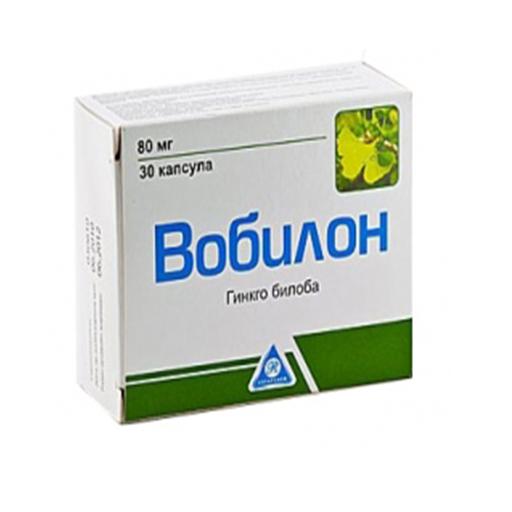 ВОБИЛОН КАПС 80МГ №30